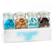 Baby Boy Candy Jars