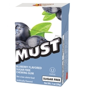 Elite Must Sugar Free Gum Pellets - Blueberry - 16CT Box