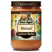 Smooth & Creamy Roasted Cashew Butter
