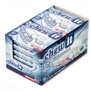 Ice Mint Chew It Sugar Free Gum - 12CT