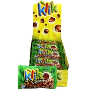 Klick Milk Chocolate Coated Cornflakes Bags - 24 CT Box