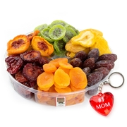 Mother's Day Dried Fruit 6-Section Platter