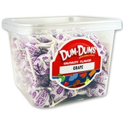 Grape Dum Dum Pops - 120CT Box