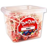 Mango Dum Dum Pops - 120CT Box