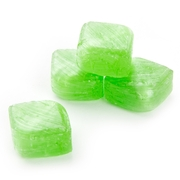 Green Apple Cubes Wrapped Hard Candy