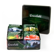 GreenField Premium Tea Tin Box