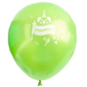 Green Purim Balloons - 10CT