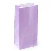 Lavender Paper Treat Bags - 12CT
