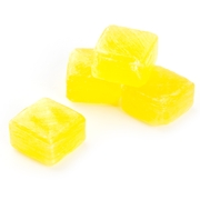 Lemon Cubes Wrapped Hard Candy