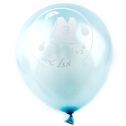 Bar Mitzvah Light Blue Balloons - 10CT