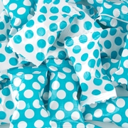 Carribean Blue Dots Butter Mints