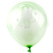 Bar Mitzvah Green Balloons - 10CT