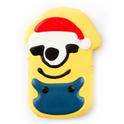 large Christmas Decorated Cookie - Minion