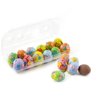 Miniature Solid Milk Chocolate Eggs