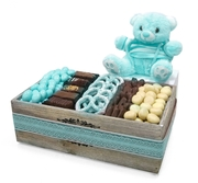 Baby Boy Wooden Gift Box - Israel Only