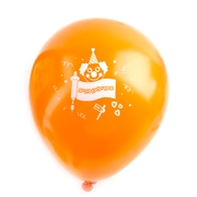 Orange Purim Balloons - 10CT
