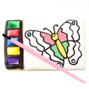 Brilliant All in One Paint a Cookie Kit- Butterfly