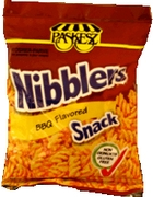Barbecue Nibblers Crunchy Snacks - 6PK