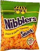 Onion Garlic Nibblers Crunchy Snacks - 6PK