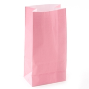 Pink Paper Treat Bags - 12CT