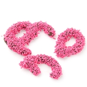 Pink Sprinkle Broken Pretzel Pieces - 1 LB Bag