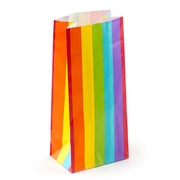 Rainbow Paper Treat Bags - 12CT