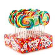 Rainbow Swirl Whirly Pops
