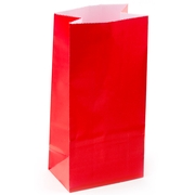 Red Paper Bags - 12CT