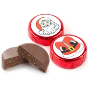 Holiday Santa Claus Foiled Chocolate - 2PC Favor Box