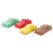 Miniature Chocolate Racing Cars