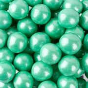 Turquoise Shimmer Pearl Gumballs