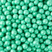 Turquoise Shimmer Pearl Sixlets