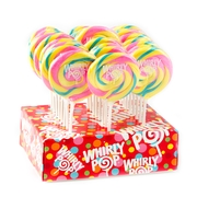 Pastel Multi Color Whirly Pops