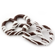 Chocolate Covered Pretzels with White Suger - 10CT Box