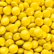 Yellow Chocolate Lentils Gems