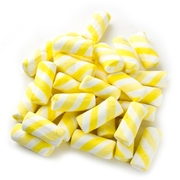 Yellow Fruit Swirls Marshmallows - 8oz Bag