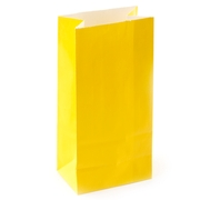 Yellow Paper Treat Bags - 12CT