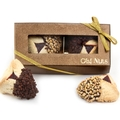 2-Pc. Chocolate Dipped Hamantaschen Gold Gift Box