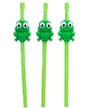 Passover Frog-Shaped Straws - Set of 4