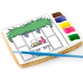 Brilliant All in One Paint a Cookie Kit- Sukkoth / Sukkah