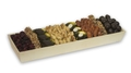 Chocolate & Nut Wooden Tray - Israel Only