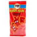 4 oz Sour Belts - Strawberry