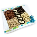 Nuts and Chocolates Ceramic Plate - Israel Only