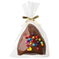 Chocolate Covered Hamantaschen With Rainbow Chips - 1PC