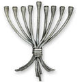 Art Deco Menorah