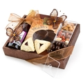 Purim Posh Mirror Sparkle Tray - Top Rated Mishloach Manot Purim Gift Baskets