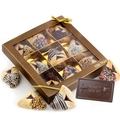 9 Piece Hand Dipped Hamantash & Chocolate Card Mshalach Manos