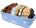 Blue Perfection Baby Boy Basket - Israel Only