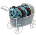 Chocolate Covered Pretzels Baby Boy Gift Basket