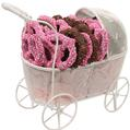 Chocolate Covered Pretzels Baby Girl Gift Basket